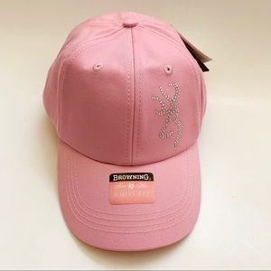 NWT Browning For Her Pink Bling Baseball Hat